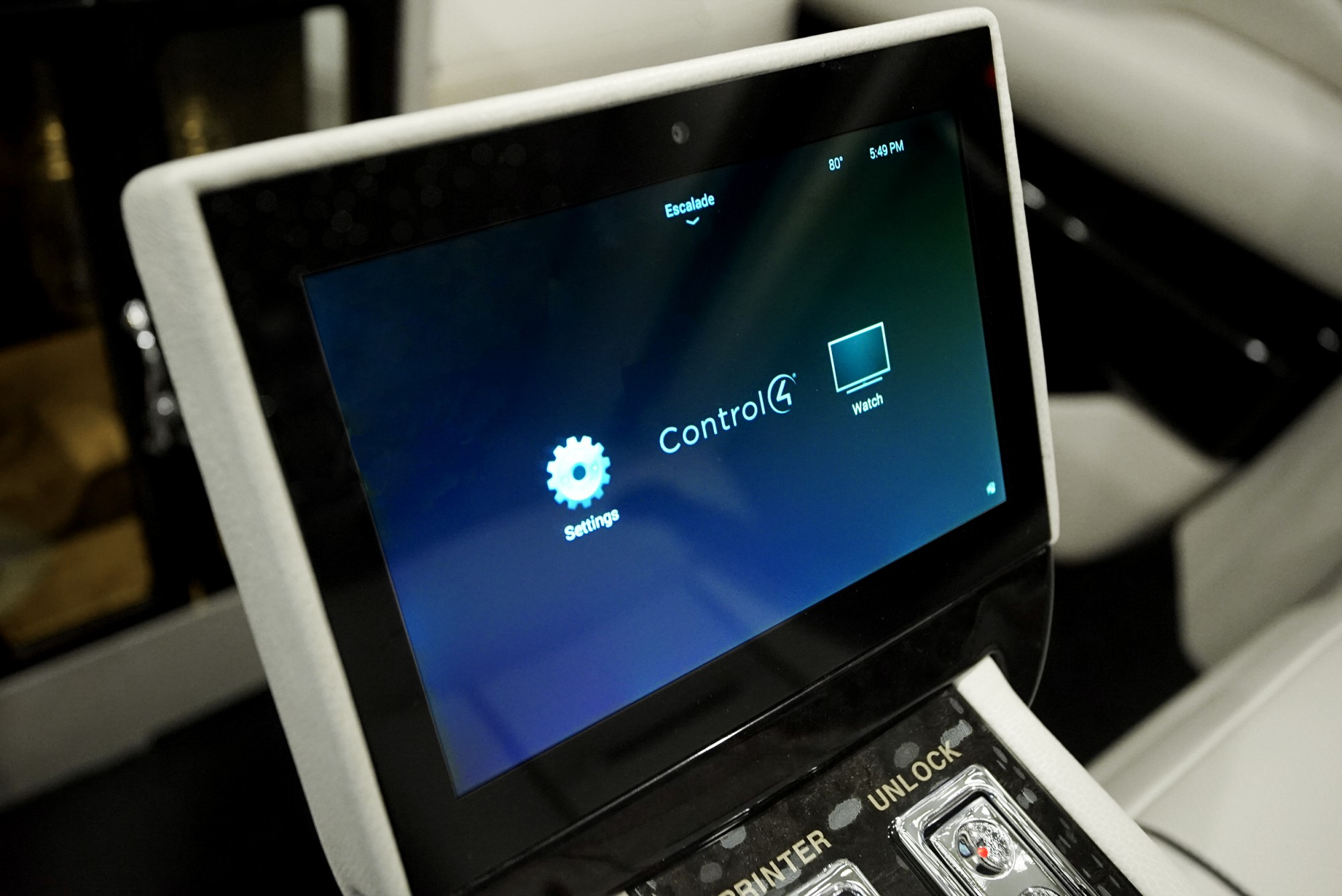 touch screen control panel management system
