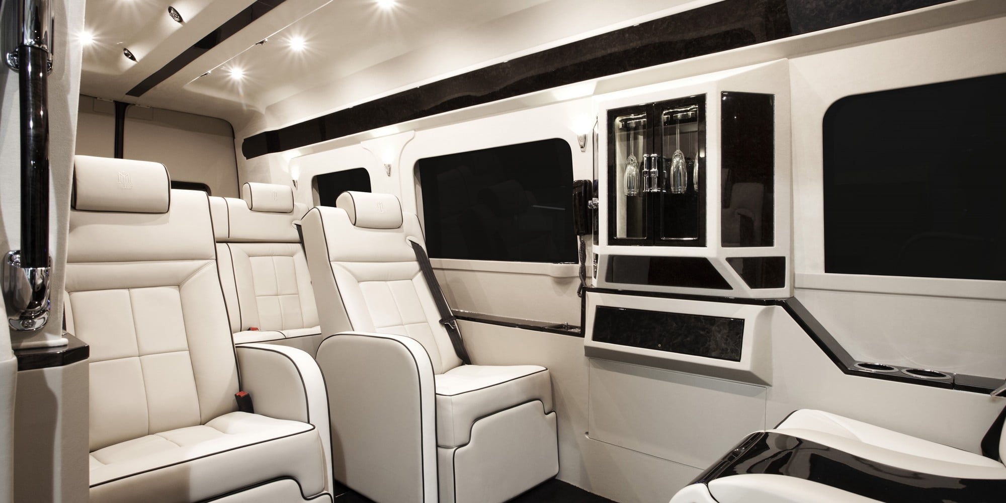 Lexani Motorcars Luxury Interior Vehicle Conversions